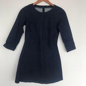 Zara mini jean dress
